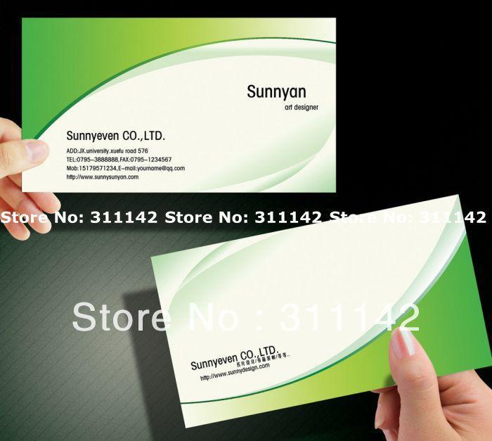 art paper business card matt visit name display cards custom