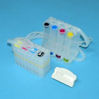 4 color CISS For Epson TM C3500 3510 3520 Bulk Ciss ink system with chip resetter for Epson GJiC22P ink cartridge