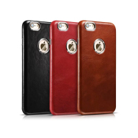 Luxury Ultra Thin First Layer Genuine Leather Cases For iPhone 6 6S Plus Hard Full Protection Phone Back Cover For iPhone 6 6S