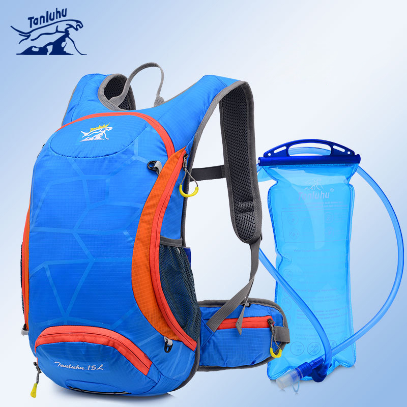 Tanluhu 18L Cycling Nylon Waterproof Backpack Off-road Marathon Run Carry Kettle Water bag Bicycle Accessories Bags