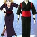 Naruto Cosplay Temari Cosplay Black Womens Naruto kimono Cosplay Costume