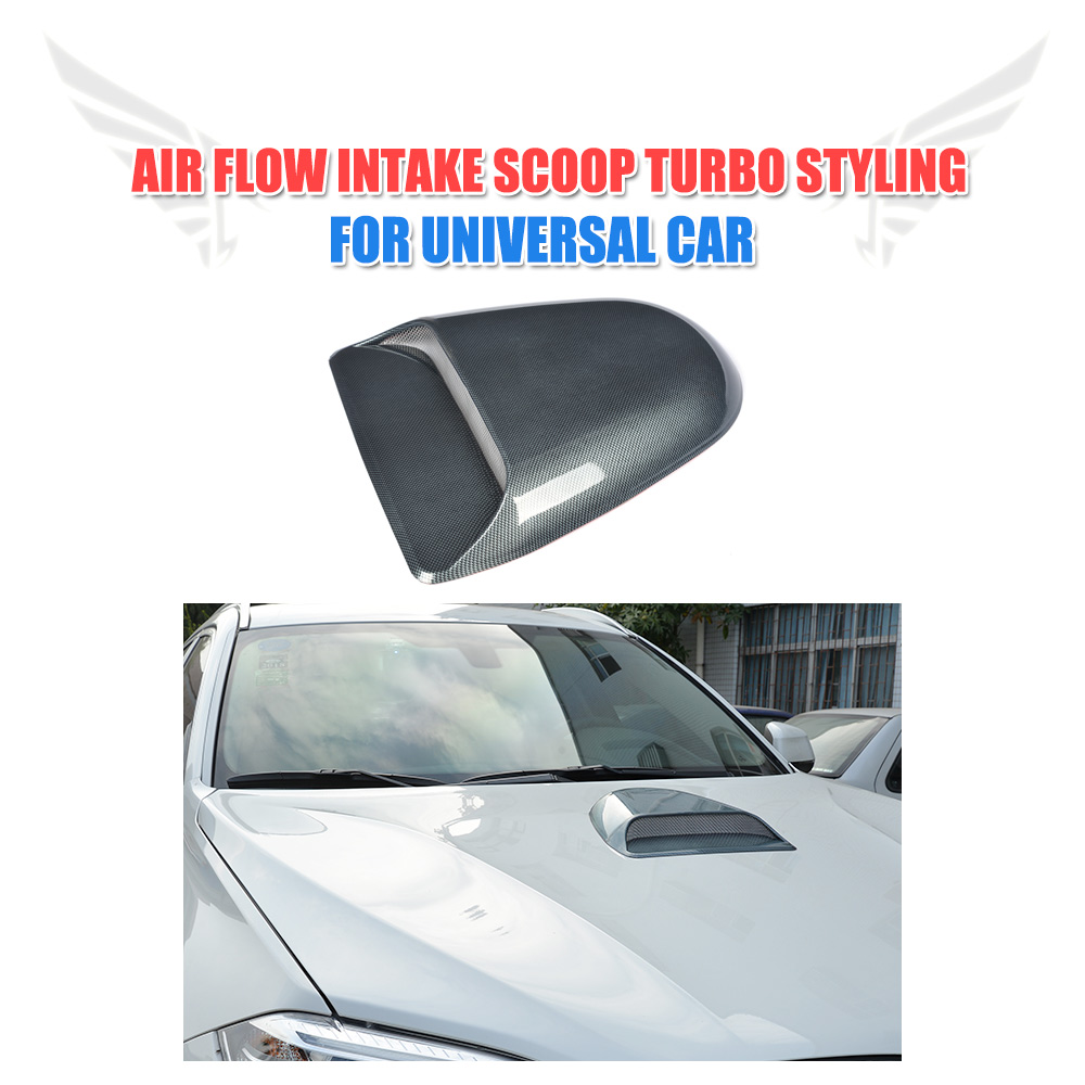 Universal Car decorative Air Flow Intake Scoop Turbo Bonnet Vent hood Cover For BMW For Audi For VW For Benz Trunk Trim Sticker 2007 bmw x5 spoiler