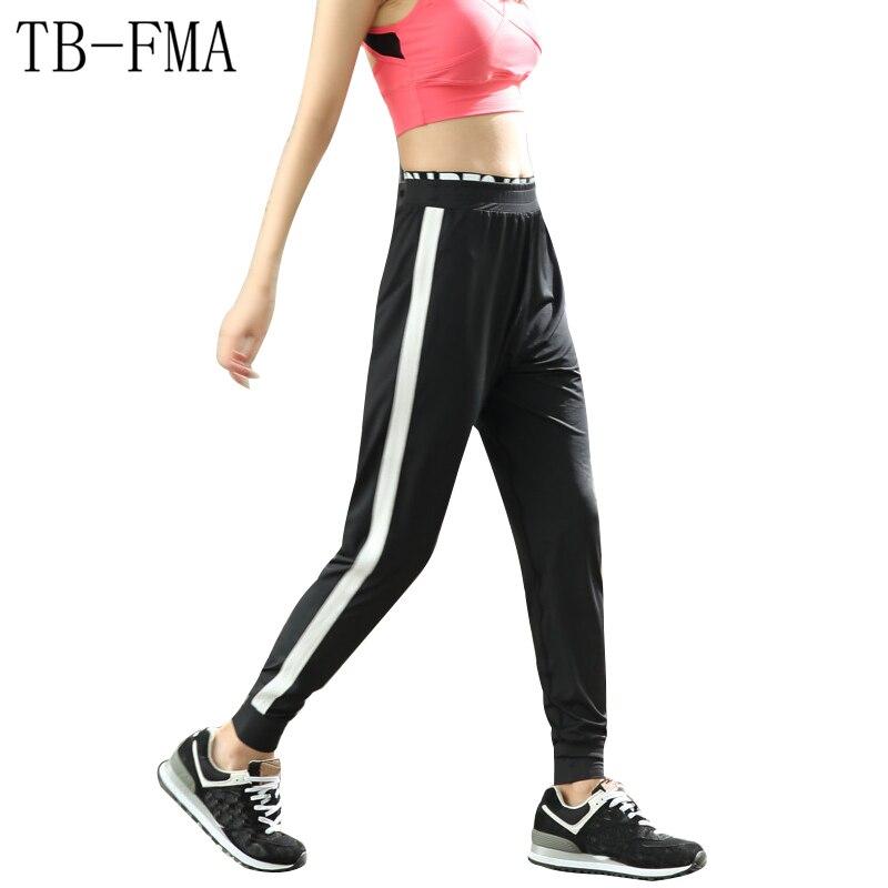Yoga Pants Women Widen Waist Dance Fitness Leggings Anti-sweat Compression Sport Tights Yoga Sportswear Yoga Skinny leggings