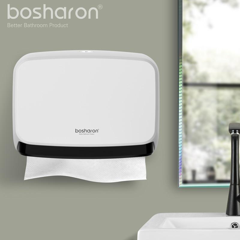Badkamer Kithen Papieren handdoekdispenser Muurbevestiging NIEUW ABS - Home opslag en organisatie