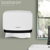 Bathroom Kithen Paper Towel Dispenser Wall Mount NEW ABS Thick Material Tissue Box Hand Paper Dispensers Holder Home Accessories