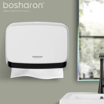 Cuarto de baño de cocina dispensador de toalla de papel de montaje en pared ABS nuevo Material grueso tejido caja mano dispensadores de papel titular accesorios para el hogar