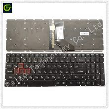 Rusia Backlit Keyboard For Acer Predator Helios 300 PH317-51 NK. I1513.053 G3-571 G3-572 PH315-51 N17C1 N16C7 RU Hitam(China)