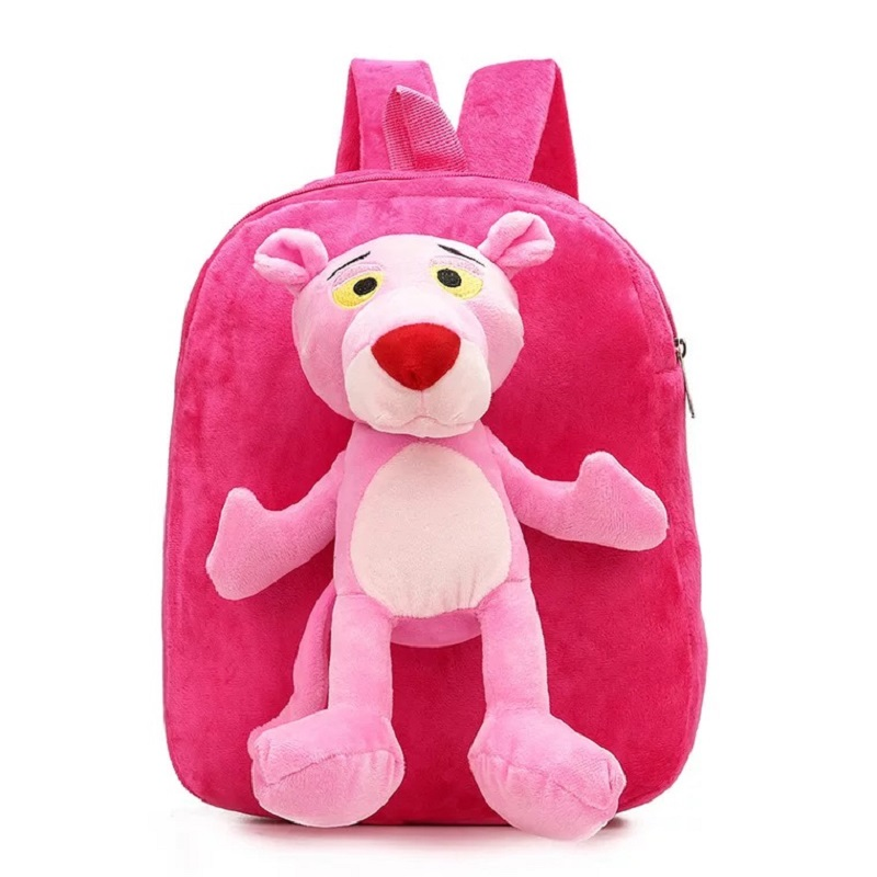 86119b9a5642 3D Cartoon Kindergarden School bag Jungle Brothers Toddler Kids Boy Girl  Backpack Plush Toy Children Bag Baby gift