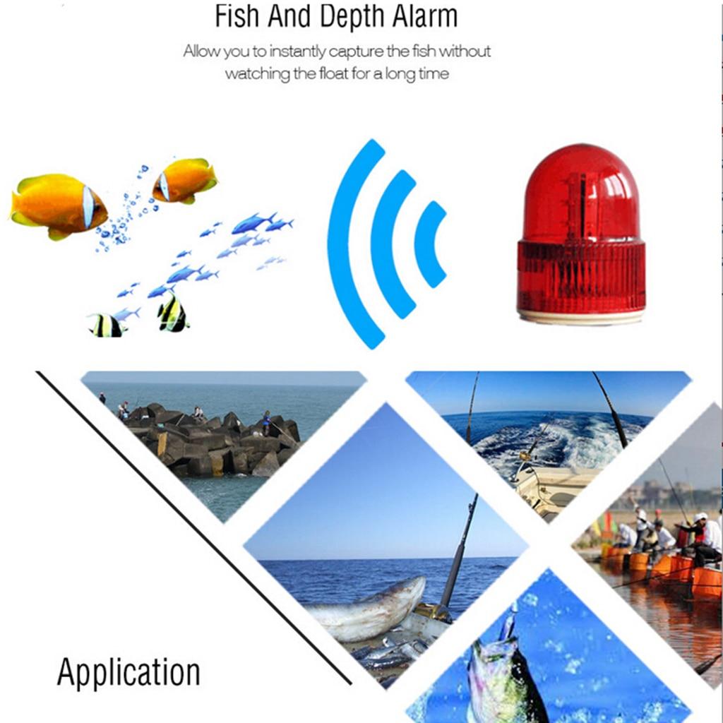 Ff1108-1cwla sem Fio Ice/oceano/barco Fish Finder Alarme Fish