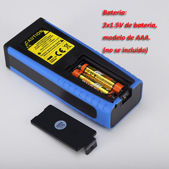 Trena Metro laser, Medidor Distancia Laser,0.05-40m, Medidor volumen laser,telemetro,range finder, Cinta Metrica, CP40