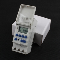 Timer Switch 2016 Din Rail Digital TP8A16 Weekly Programmable Electronic Microcomputer Time Switch 220V AC 16A