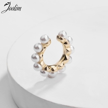 JOOLIM Simulated Pearl Clip On Earring Single One