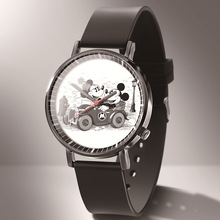 2019 Fashion Cute Mickey Minnie Mouse style Children's Watches Mickey Mouse Kids Student Girls Boys Quartz leather Wrist Watch все цены