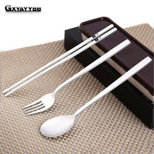 Cutlery Set 3 Pieces Tableware Stainless Steel Western Dinnerware Classic Dinner of Dining Knives and Forks TeaSpoons