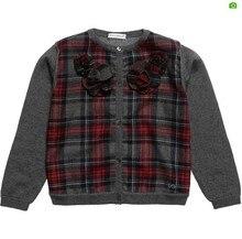 Baby Girls Sweater Autumn Winter New Kids Solid Knitwear Cotton Fashion Brand Full Sleeve Children Clothing