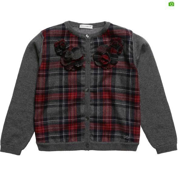 Bebé Niña Suéter de Otoño Invierno Nuevos Niños Prendas de Punto Sólido de Algodón Marca de Moda de La Manga Completa Niños Ropa WJ182