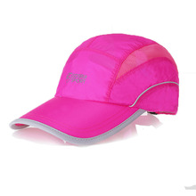CRESTGOLF girls baseball caps snapback fast dry outside summer time solar hat bone breathable mesh chapeu sport mesh fishing cap