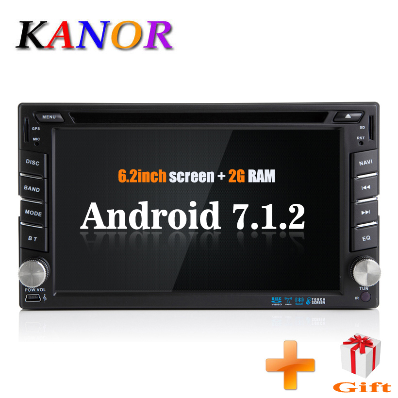 KANOR 2 Din Android 71 Car Dvd