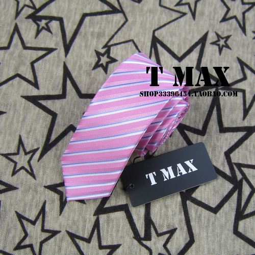 T max men's stripe tie male 5.5cm tie formal casual married commercial tie