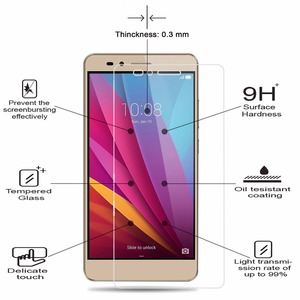Image 4 - 2PCS 9H Gehard Glas Voor Huawei Y3 Y5 2017 Y6 ii Compact LYO L01 CAM L21/L03/L23 4C Y635 Y6 Pro Y5 2018 Screen Protector Film