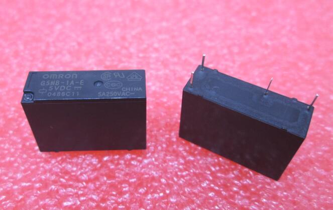 HOT NEW G5NB-1A-E-5VDC G5NB-1A-E 5VDC G5NB1AE G5NB1AE-5VDC G5NB 5VDC DC5V 5V DIP4 free shipping 2pcs omron power relay g5nb 1a e 5vdc g5nb 1a e 12vdc g5nb 1a e 24vdc g5nb 1a e 5v 12v 24vdc 5a 4pins a group of normally open