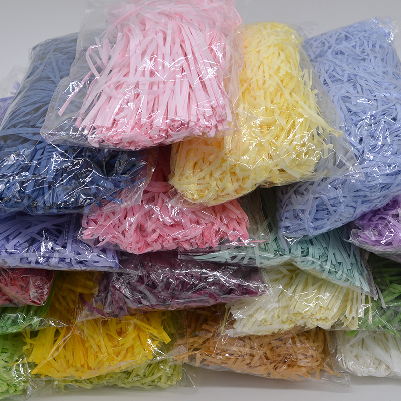 Paper Confetti Decoration-Supplies Raffia Filling-Material Birthday Wedding-Party Crinkle