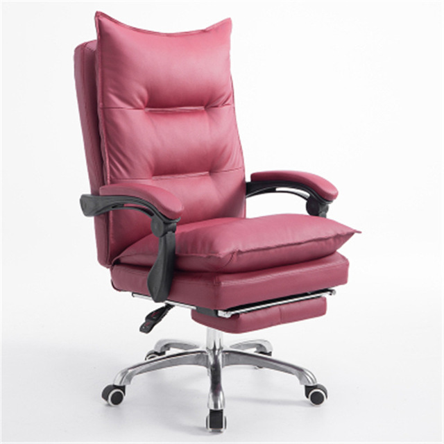 Office Chairs Best Price Super Comfortable Office Chair Reclining Computer Seat Anchor Chair Pu Swivel Chair Optional Footrest Fashion Executive Seat