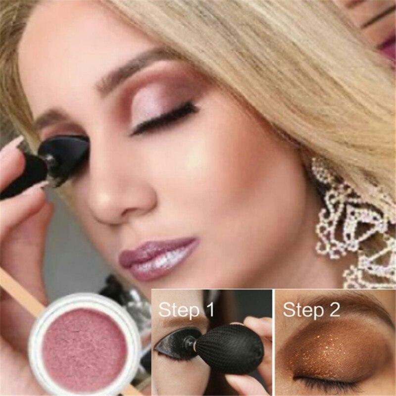 QIAOYAN Popular Silicone Magic eyeshadow stamp crease Fashion Lazy Eye Shadow Applicator