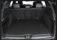 Абсолютно новый для Mercedes Ben GLC260 2 шт. высококачественный автомобильный 3D коврик для багажника ковер внутри коврики из искусственной кожи авт...