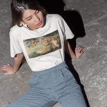 The Birth Of Venus Women tshirt Cotton Casual Funny t shirt Lady Yong Girl Top T