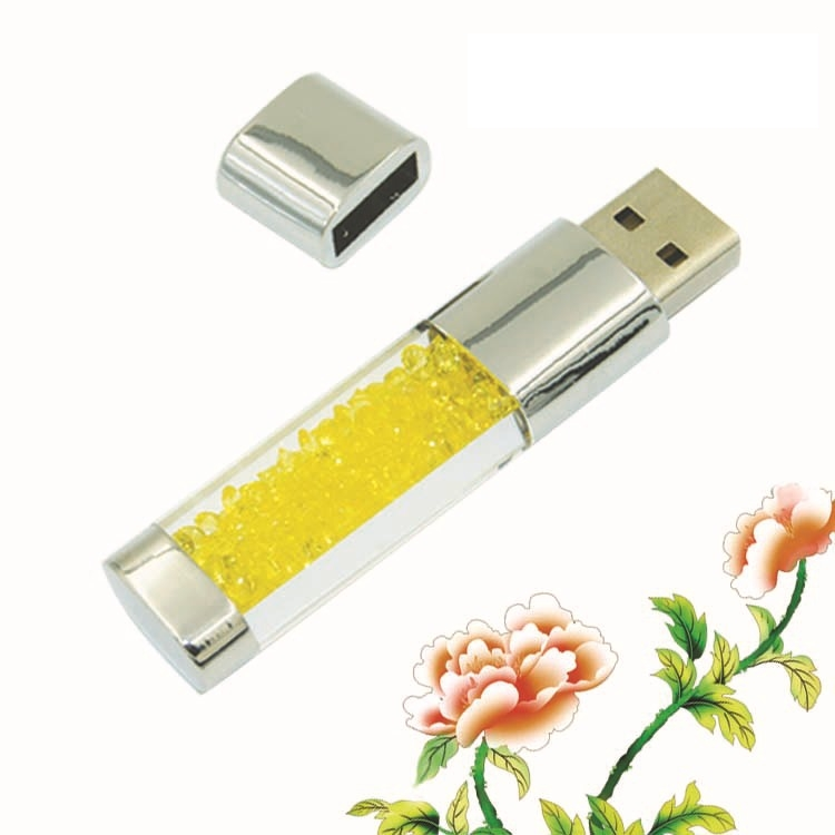 100% Real Capacity Jewelry Crystal Diamond Flash Memorystick Sieraden - Externe opslag - Foto 3