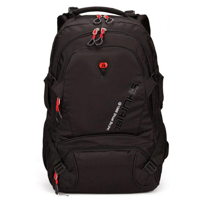 Bagail Unisex Laptop School Satchel Book Bags Men's Travel