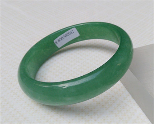 купить Hot sell ->@@ NEW CHINESE JEWELRY BEAUTIFUL GREEN Natural stone BRACELET 61MM NEW -Top quality Natural по цене 5912.07 рублей