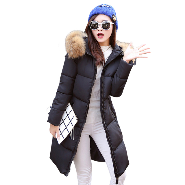 Hot New warm Winter jackets women 2016 Fashion Women coats thick hoody winter coat slim women parka warm womens wadding jacket