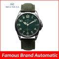 Gaivota homens do esporte militar relógios mostrador grande movimento calendário de safira ST2553
