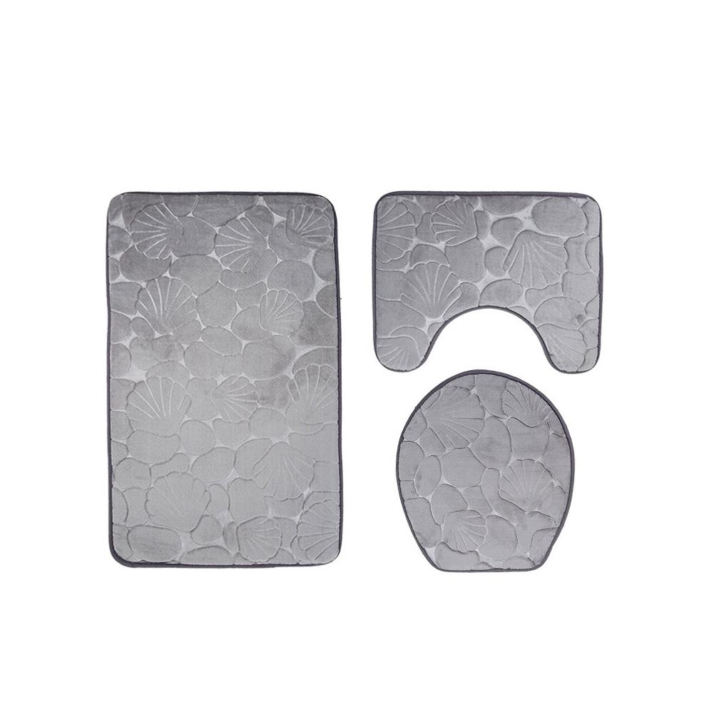 Admirable Us 11 57 34 Off 3 Pcs Set Flannel 3D Pressed Flower Toilet Pad Toilet Seat Bathroom Non Slip Carpet Set In Bathroom Accessories Sets From Home Caraccident5 Cool Chair Designs And Ideas Caraccident5Info