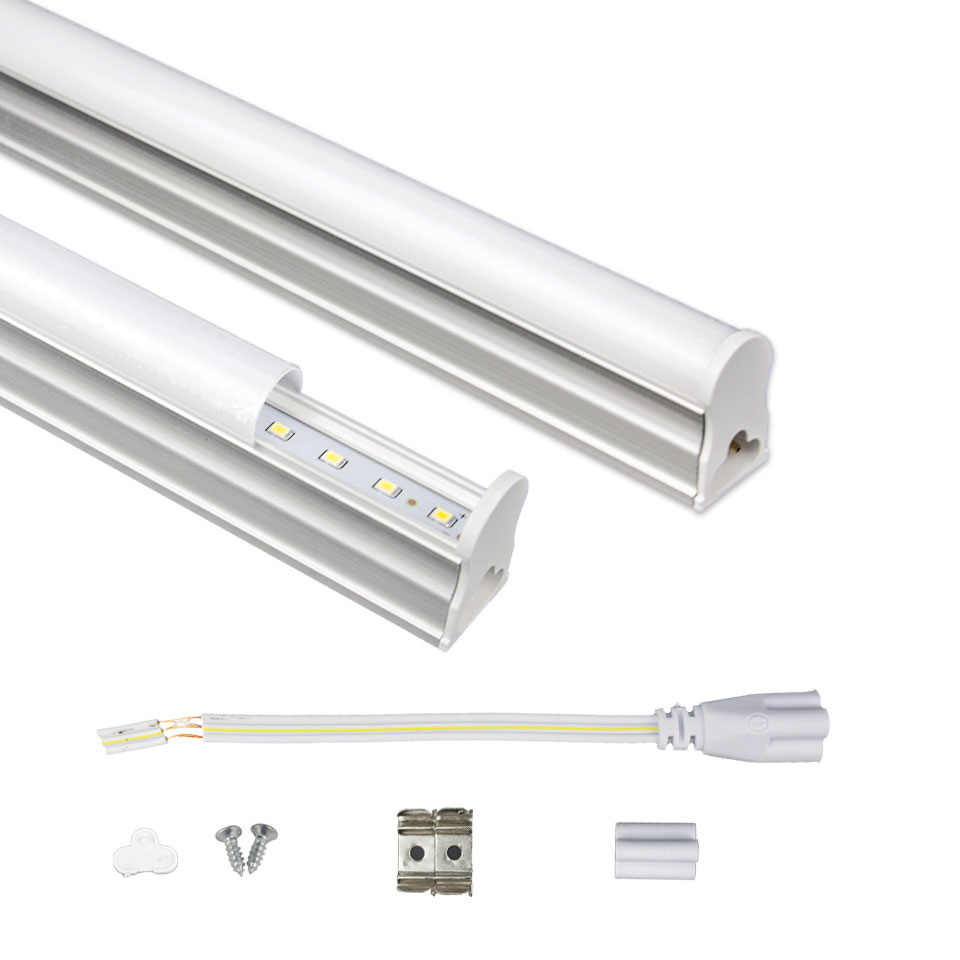 T5 Led Tube Lamp Light 6W 10W 29cm 57cm Fluorescent Led Bulbs Tube 220V Home Led Wall Lamp Aluminum + Acrylic T5 Tube Led Light