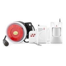 Free shipping New Urgrade 32 Zone Wireless Home Security Burglar Super Loud Alarm System Doorbell/Emergency Function