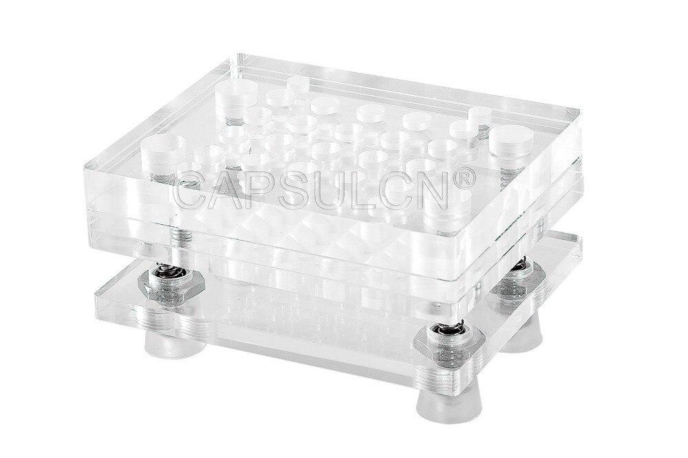 Size 4 Manual capsule filler/Capsule Filling Machine/Encapsulating Machines CN-20 стоимость