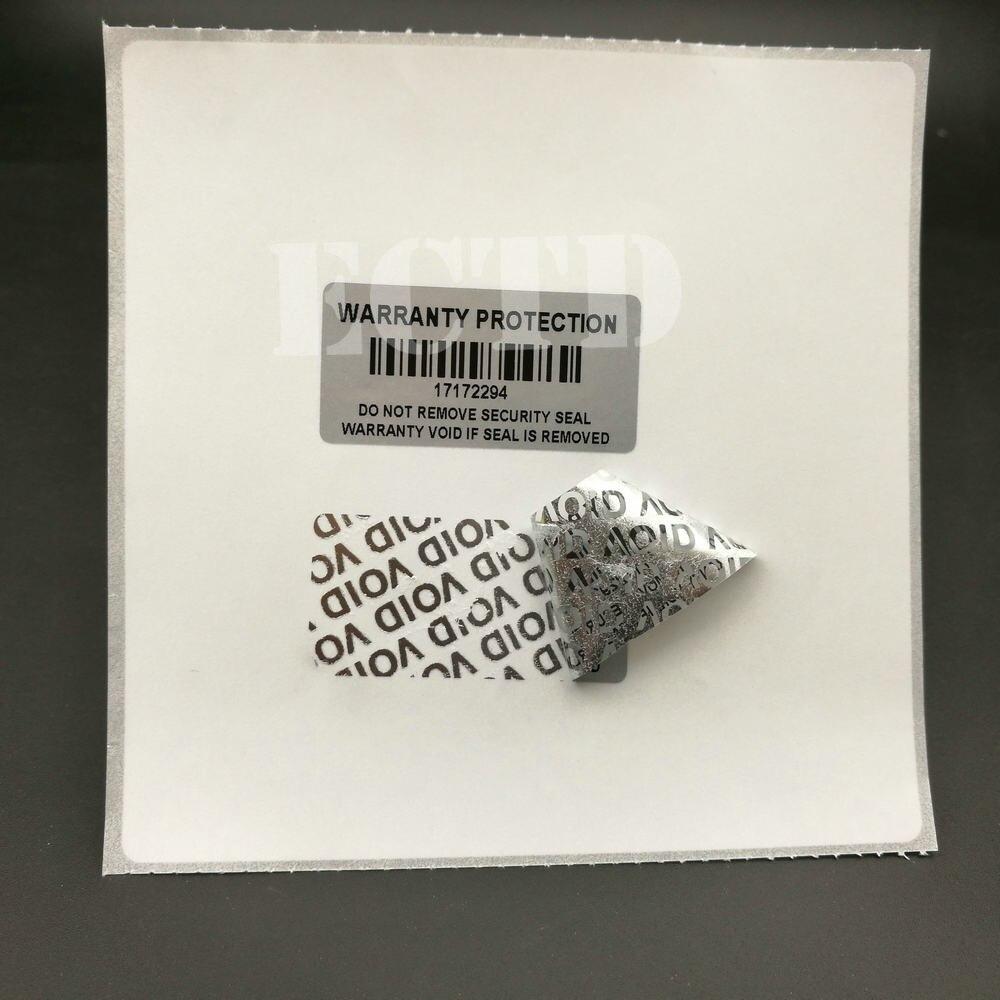 1000 шт., защитные наклейки, 1,57x0,79 дюйма (40x20 мм)