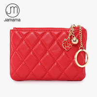 Jamarna Key Wallet Genuine Leather SheepSkin Coin Purses For Keys Card Holder Fashion Key Pouch Small
