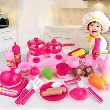 Kitchen Toy Set For Kids 30pcs/set Vegetables Fruit