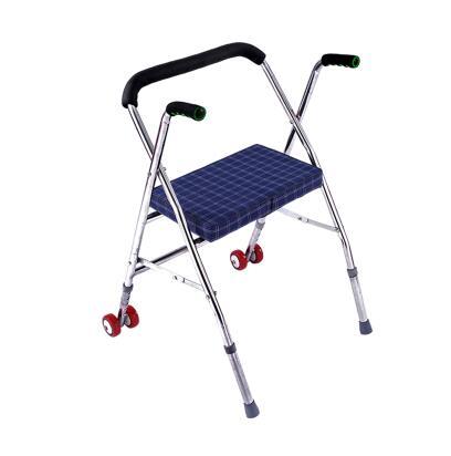 Walking Stick Chair Infant Sleeper Elderly Walker With Four Legged Wheelbarrow Wheelchair Oxygen Elf Man Helps Wear Old Cane