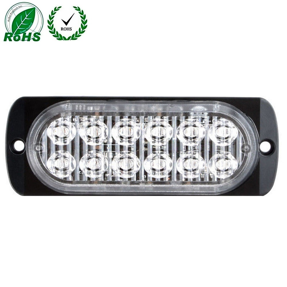 Back To Search Resultsautomobiles & Motorcycles Universal 12 Led Car Flashing Warning Light Signal Emergency Hazard Warning Beacon 36w Strobe Light Bar Grill Red White Aesthetic Appearance