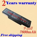 JIGU New 9 Cell Laptop battery For Asus X73BY Series X73E X73S X73SD X73SJ X73Sl X73SV X73SM X73T X73TA X73TK free shipping