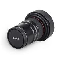 Meike 8 мм f/3,5 широкоугольный объектив рыбий глаз для Panasonic/Olympus беззеркальная камера монтируемая камера видеонаблюдения микро 4/3 крепление с ...