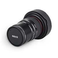 Meike 8mm f/3.5 Wide Angle Fisheye Lens for Panasonic Olympus Mirrorless Camera MFT Mount Micro 4/3 Mount with APS C GH4 GH5