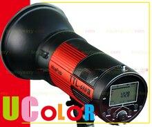 Portátil 600 W Estudio Strobe Luz de Flash TTL HSS 1/8000 Nicefoto 680C Para Canon TTL-680C
