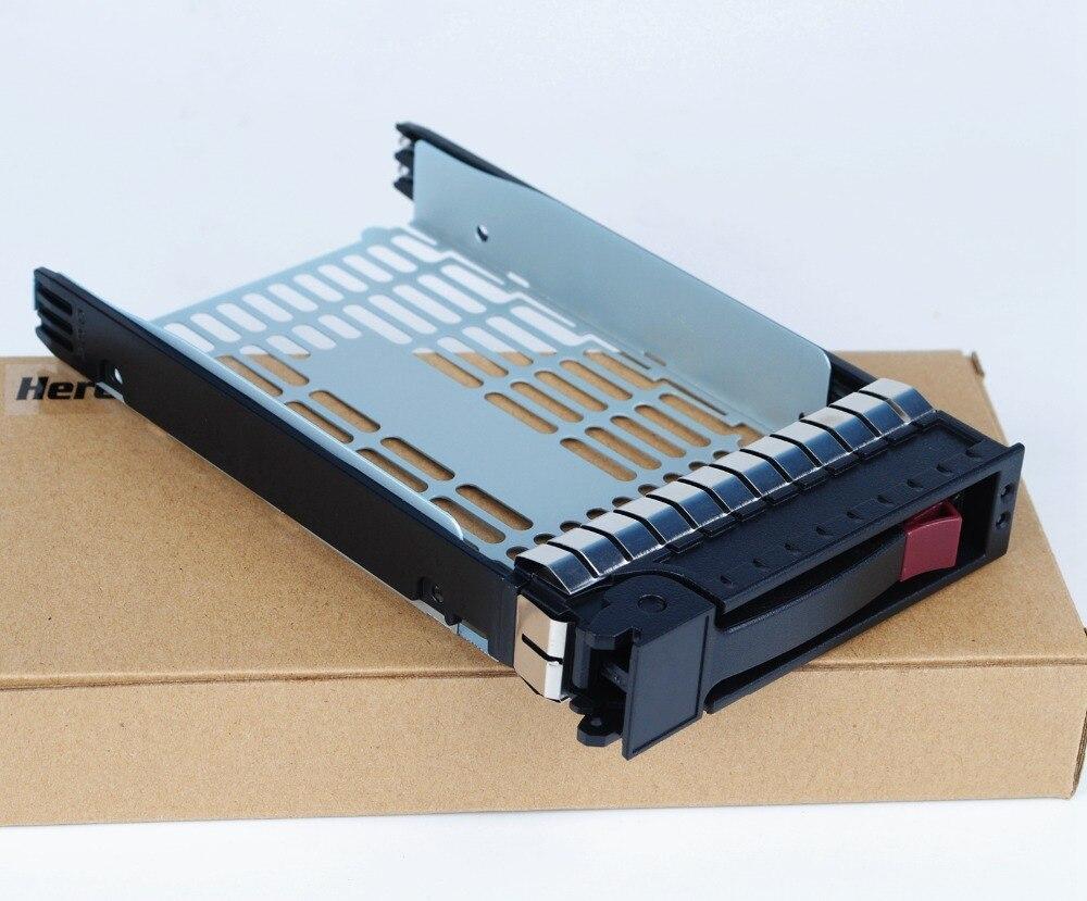 "10cps Express Shipping 373211 001 3.5"" SATA SAS hdd Tray Caddy for hp Proliant g6 ML350 ML370 DL380 G6 Caddy Bracket|HDD Enclosure| |  - title="