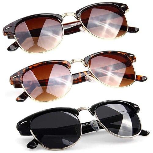 8bff4ee88b07a Atacado das Mulheres dos homens Retro Rebite Óculos Oversized Óculos  Designer Eyewear 6R18